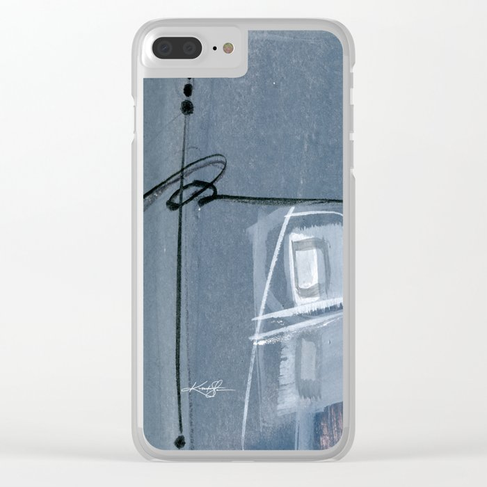 Abstraction 16 No. 6 by Kathy Morton Stanion Clear iPhone Case