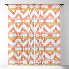 Stripe Weave Sheer Curtain