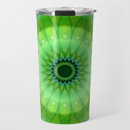 Mandala foretaste of spring Travel Mug