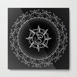 Sailor Mandala Metal Print