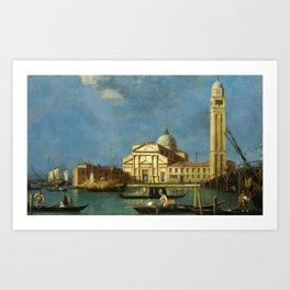 Venice - S. Pietro in Castello by Canaletto Art Print
