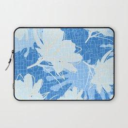 Batik Cosmos and African Daisy Laptop Sleeve