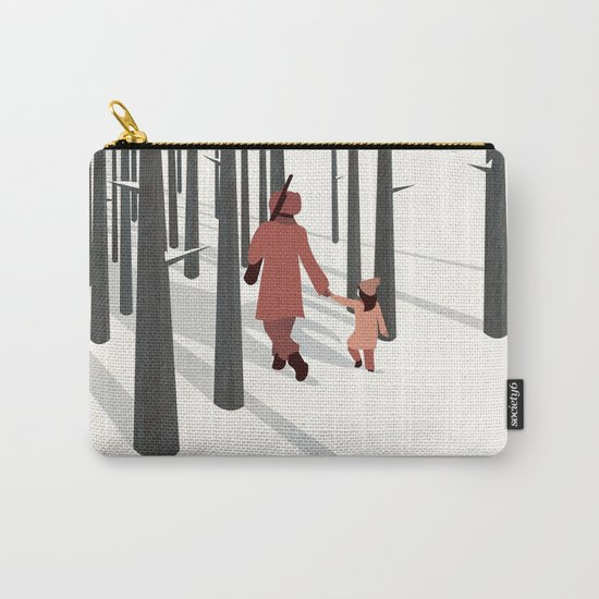 we're not out of the woods yet... Carry-All Pouch