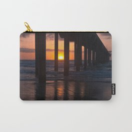 Sunset Captured Carry-All Pouch