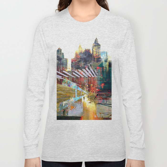 City landscape Long Sleeve T-shirt