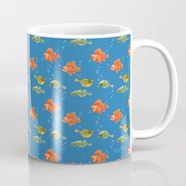 Just Some Pacific Fish Pattern Coffee Mug