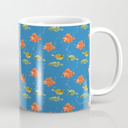 Just Some Pacific Fish Pattern Coffee Mug