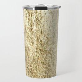 Crinkled Gold Travel Mug