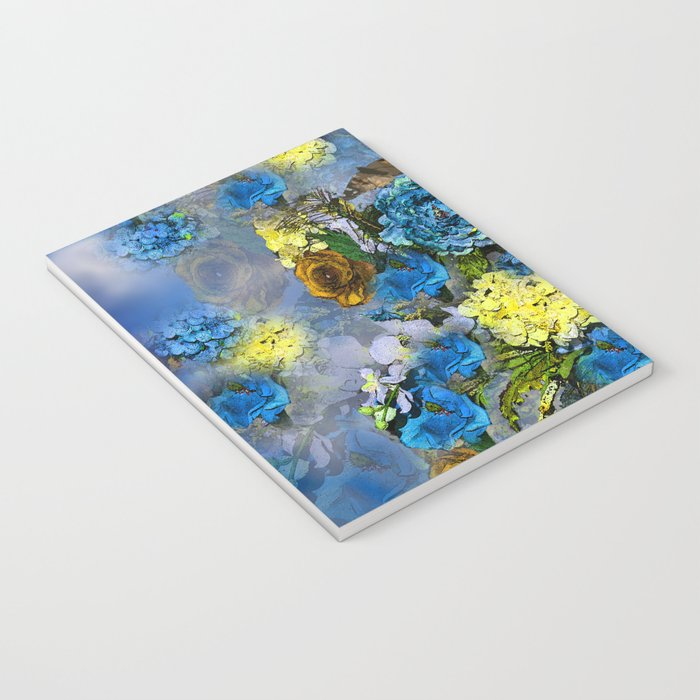 HYDRANGEA AND ROSES Notebook