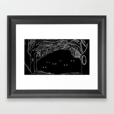 Face Your Fears. Framed Art Print