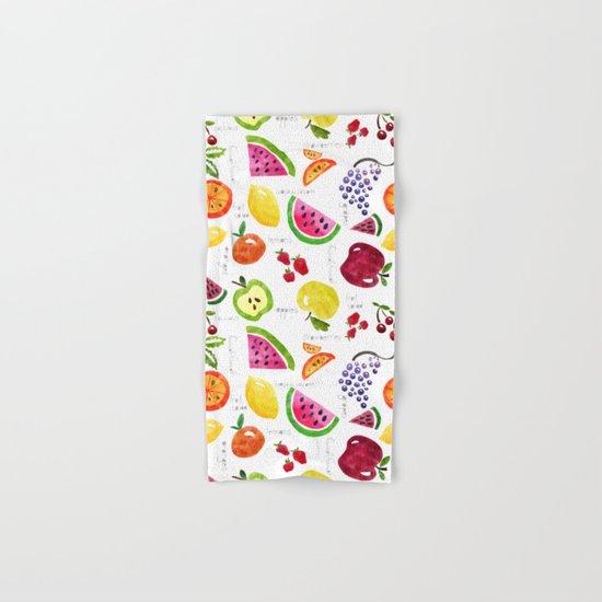 Fruit Salad Yummy Yummy Hand & Bath Towel