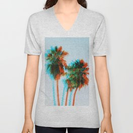 King Palms Unisex V-Neck