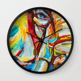 Elephant's eye Wall Clock