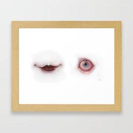 SMILEYE Framed Art Print