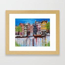 Beautiful Amsterdam Framed Art Print