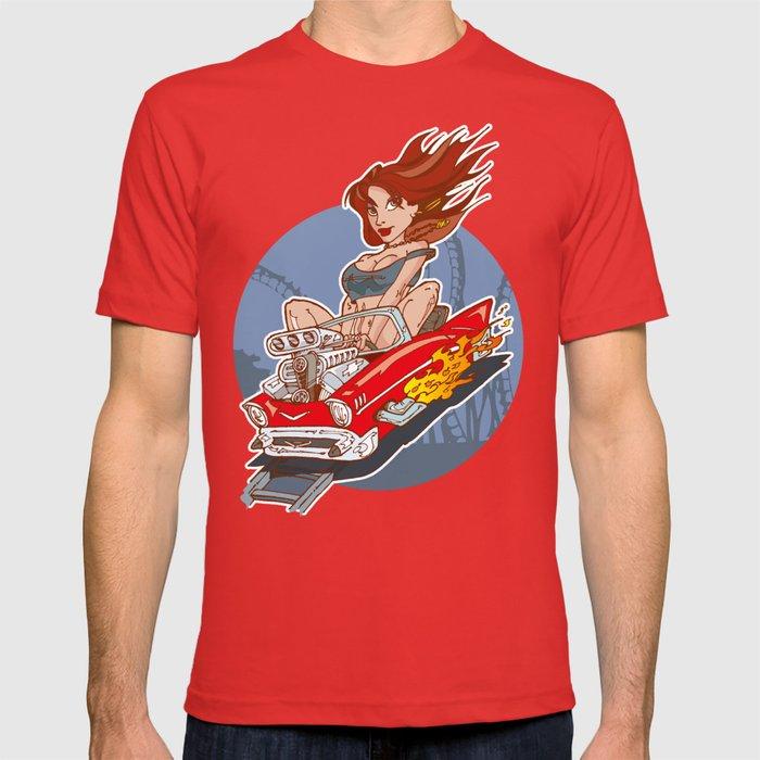 Rollercoaster Redhead T-shirt