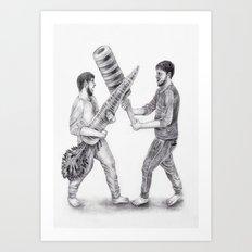 Battle  Art Print