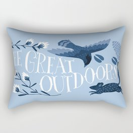 The great outdoors Rectangular Pillow