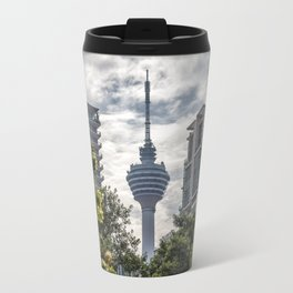 The Tower That Ate People Travel Mug