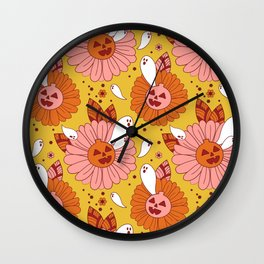 Summerween Wall Clock