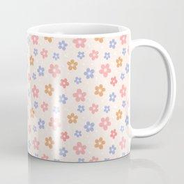 Colourful Floral Pattern Coffee Mug