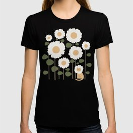 Cat and plant: Catmouflage T-shirt