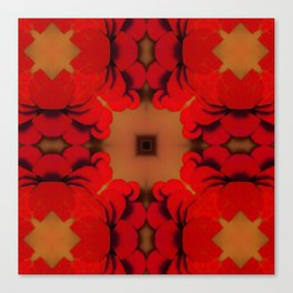 Red Yams Canvas Print