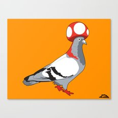 Pigeon Toad. Canvas Print