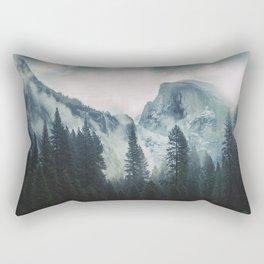 Cross Mountains II Rectangular Pillow