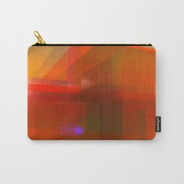 red glass and a lilac reflection Carry-All Pouch