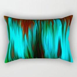 Blue Smoke Rectangular Pillow