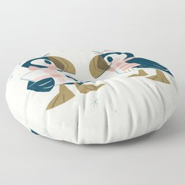 Puffins & Presents Floor Pillow