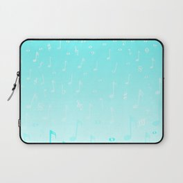 Snowing Music Laptop Sleeve