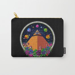 Psychedelic Magic Mushrooms All Seeing Eye Carry-All Pouch