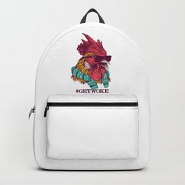 Get Woke Rooster Backpack