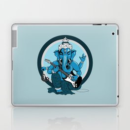 Ganesha rocks ! (v2) Laptop & iPad Skin