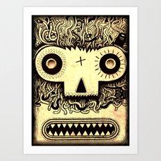 Wormface Art Print