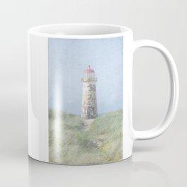 Talacre lighthouse dunes Coffee Mug