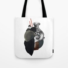 Silhouette d'une Trompeuse Tote Bag