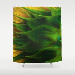Sunny Back Shower Curtain