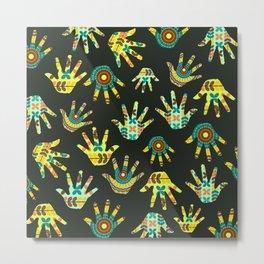 Colorful hands Metal Print