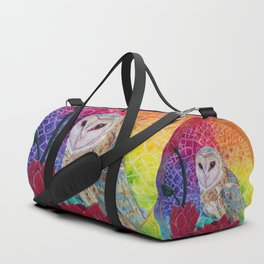 Lakshmi's Vahana ( Bird Whisperer Project Owl ) Duffle Bag