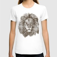 leo T-shirts featuring Leo by Eric Fan