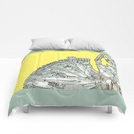 Quan Yin-Yellow Comforters