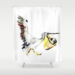 When you are too lazy to walk Shower Curtain
