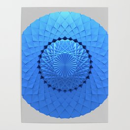 3d Mandala Poster
