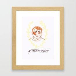 You Do Framed Art Print