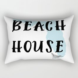Beach House Decor Rectangular Pillow