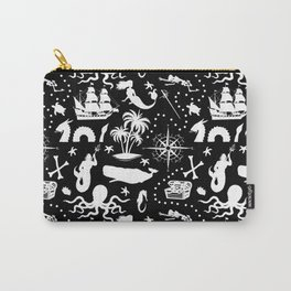 High Seas Adventure // Black Carry-All Pouch