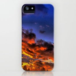 Serenade The Night iPhone Case